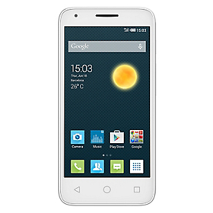 Smartphones Pixi 3 (4.5) Blanco Movistar