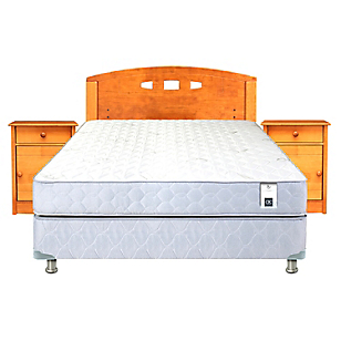 Cama Americana Essence 3 2 Plazas Base Normal + Muebles
