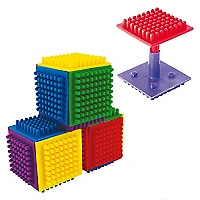 Conectable Cubo Armable 72 unidades