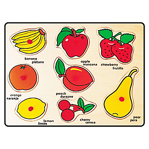 Encaje Mango Fruta Madera