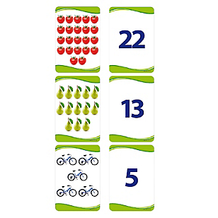 Lámina Cuenta y Números 0 al 25