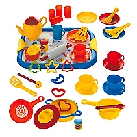 Set Cocina Pl�stico 52 piezas