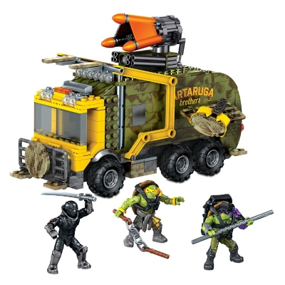 Mb Tmnt Movie Camioneta Ninja