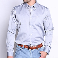 Camisa Vestir lisa Oxford