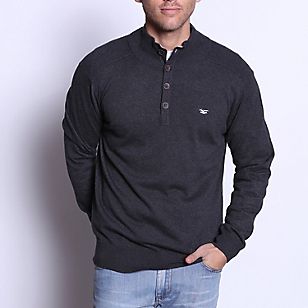 Sweater Algodón Botones