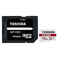 Tarjeta MicroSD 16GB Exceria Clas10