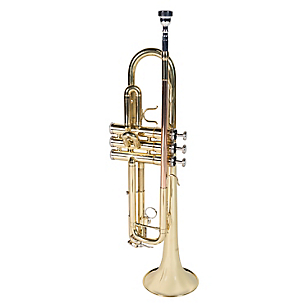 Trompeta 6416L Lacado dorado