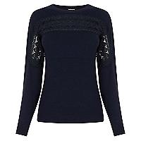 Sweater Dise�o Encaje