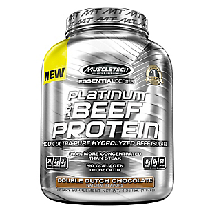 Platinium 100 Beef Protein 4 Lbs