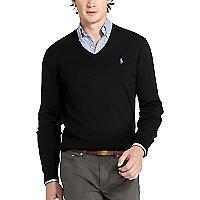 Sweater Liso Cuello en V