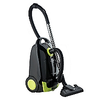 Aspiradora Arrastre 750 Watts Negro / Verde
