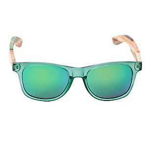 Anteojos de Sol Unisex Bronte Green Bamboo