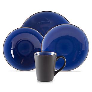 Juego de Vajilla 24 Piezas Azul