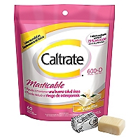 Caltrate 600 D x 60 Soft Chews Vainilla