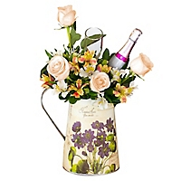 Arreglo Floral Rosas y Astromelias