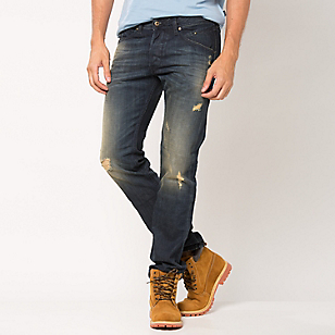 Jeans Destroyer Tapered Regular Waist