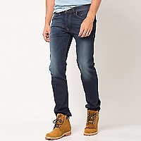 Jeans Stretchy Tapered Regular Waist