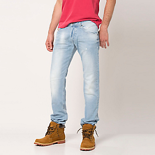 Jeans Tapered Regular Waist