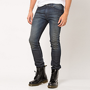 Jeans Destroyer Skinny Low Waist