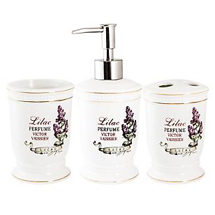 Set 3 Piezas de Baño Romántica Lilac