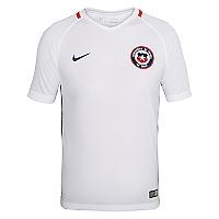 Camiseta Niño Chile Stadium Blanca