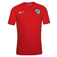 Camiseta Ni�o Chile Stadium Rojo