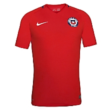 Camiseta Ni�o Chile Stadium Rojo