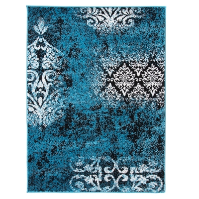 Alfombra Monte Trend 133 x 180 cm Azul