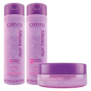 Pack Shampoo + Acondicionador + Máscara Capilar