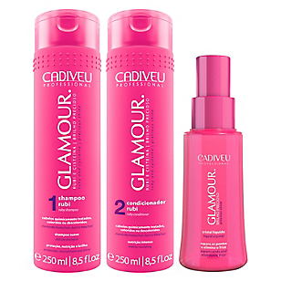 Pack Shampoo + Acondicionador +  Cristal Líquido