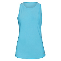 Polera Mujer Run CoolSwitch Tank Celeste