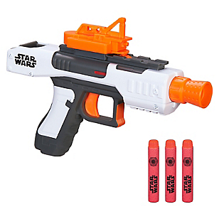 Villain Trooper White Class I Blaster