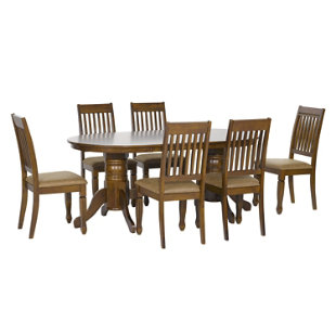 Juego de comedor 6 sillas austria cic for Comedor 8 sillas falabella