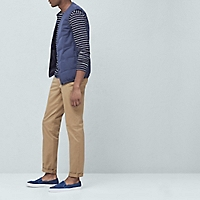 Chino Straight-Fit Algod�n