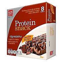 Barras de Proteínas Chocolate Crispis