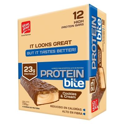 Barras de Proteínas Cookies Cream