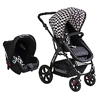 Coche Travel System Negro Galaxy 5230