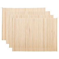 Set 4 Individuales Bamboo