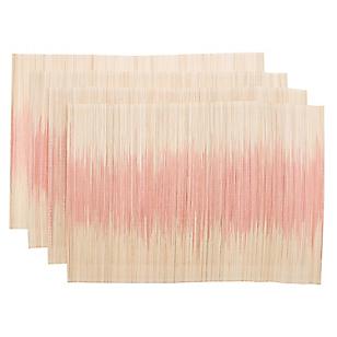 Set 4 Individuales Bamboo Degrade