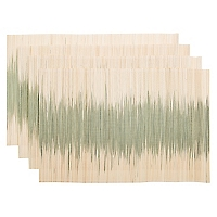 Set 4 Individuales Bamboo Degrade