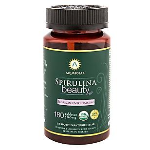 Suplemento Vitamínico Spirulina Beauty