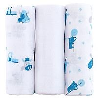 Pack x 3 Pa�al Ni�o B�sica Azul
