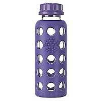 Botella Flat 250 ml Morado