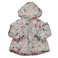 Parka Beb� Ni�a Flowers in The Air