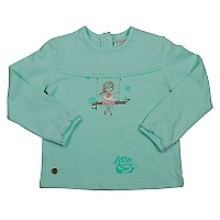 Polera Beb� Ni�a Flowers in the Air Bailarina
