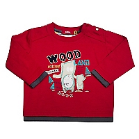Polera Beb� Ni�o Wood in the Trail