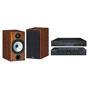 Amplificador Topaz AM5 + Cd Player Topaz + Parlantes Hi-Fi MR2