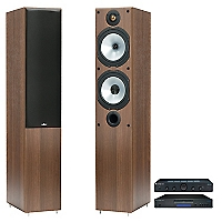 Amplificador Topaz AM5 + Cd Player Topaz + Parlantes Columna MR4