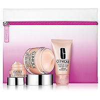 Set Mascarilla Nocturna de Hidrataci�n Moisture Surge Overnight Mask 30 ML + Descongestionante de Bolsas y Ojeras All About Eyes 7 ML + B�lsamo Labial Chubby Stick Baby Tint 1.2 G