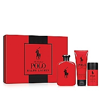 Estuche Polo Red EDT 125 ML +  Desodorante 125 ML + Shower Gel 100 ML